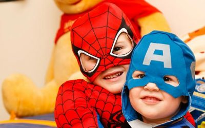 Stages of Superhero Play in Play Therapy
